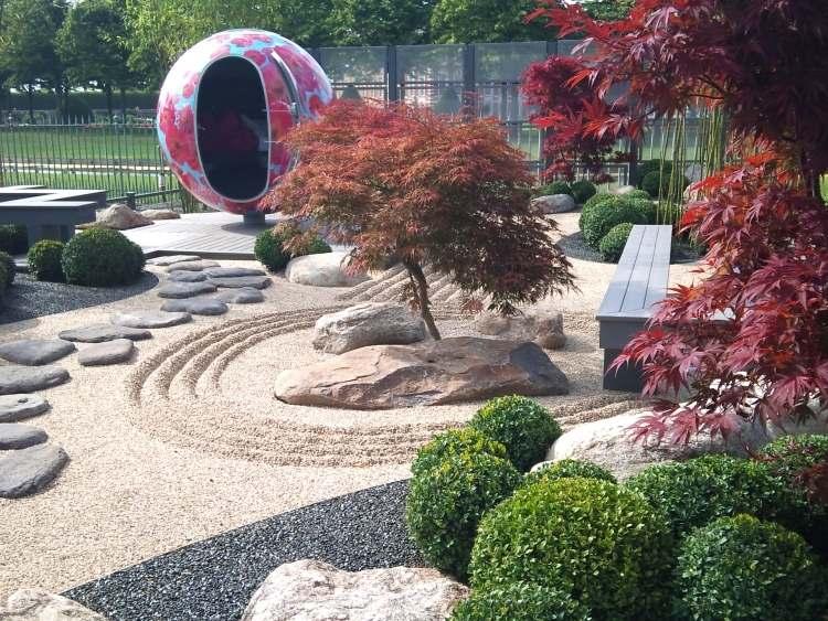 Wonderful Plantes Pour Jardin Japonais Exterieur #11: Déco De Jardin ...