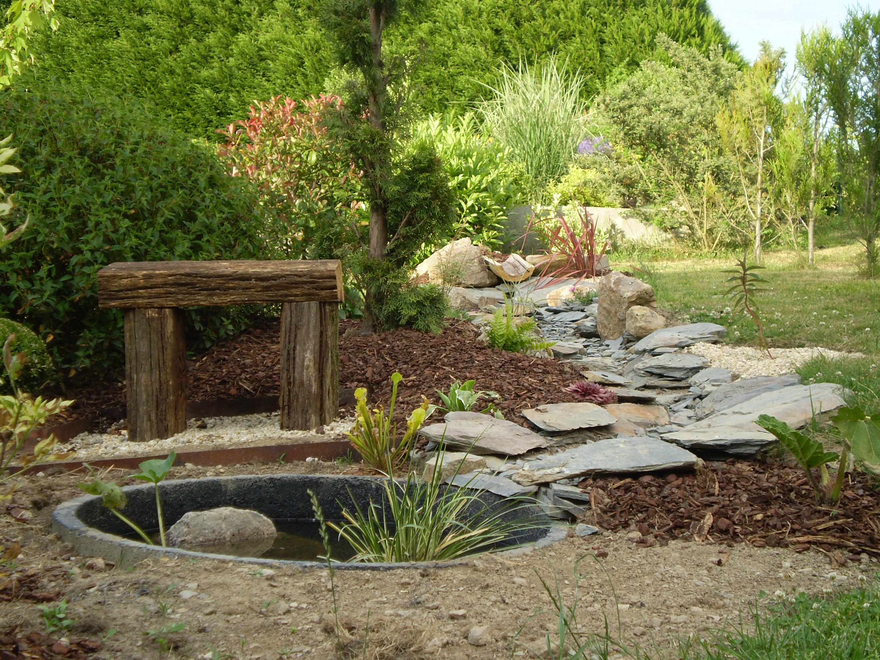 4 moyens d introduire votre plan d eau au jardin jardinier conseil. Black Bedroom Furniture Sets. Home Design Ideas