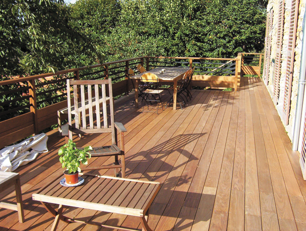 11 choix de terrasses pour vous accompagner au jardin for Terrasse exotique et depaysante